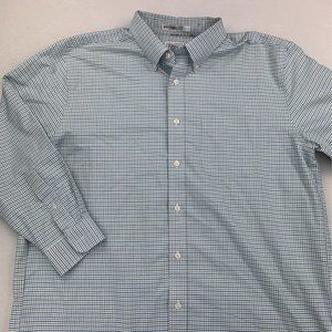 LL BEAN WRINKLE FREE BUTTON DOWN SHIRT 17 - 33
